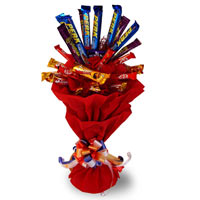 15 Mix cadbury chocolate bouquet