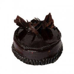 1 Kg Eggless 5-star Dark Chocolate Cake