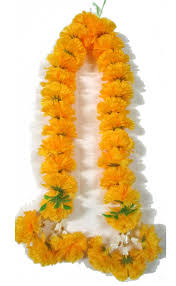 Single marigold Garland
