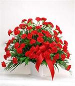 100 Red Roses Center Table Arrangement