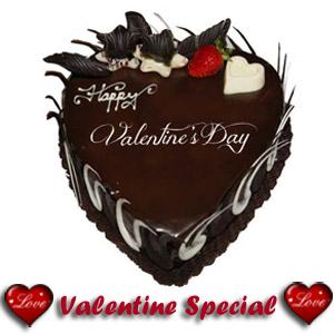 1 Kg Eggless 5 Star Valentine Heart Cake